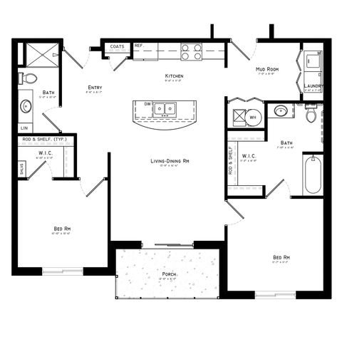 Manchester - 1028 - 1044 sq ft