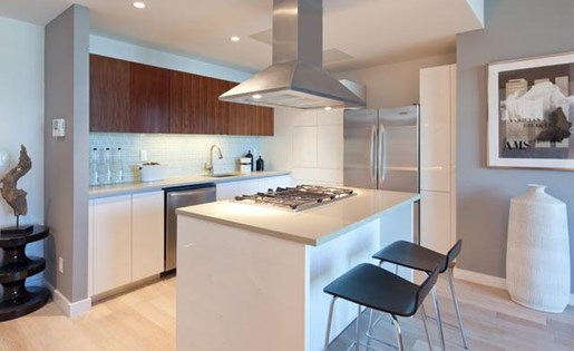 Gourmet Kitchen at 111 Kent Apartment Homes, New York, 11249