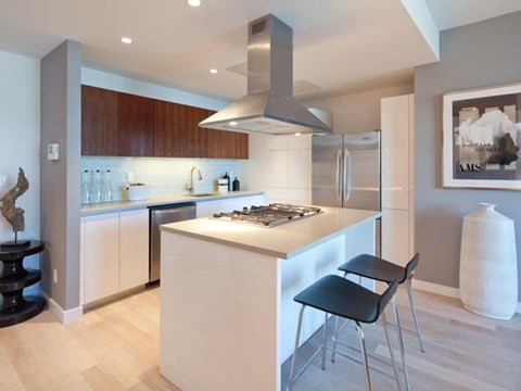Gourmet Kitchen at 111 Kent Apartment Homes, New York, 11249