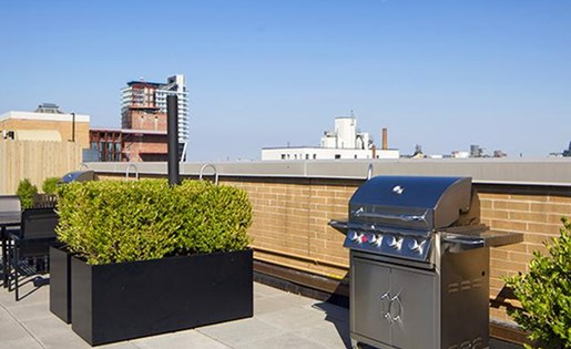 Grill Out At The Bbq at 111 Kent Apartment Homes, Brooklyn, New York