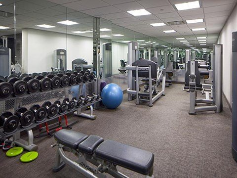 State-of-the-Art Fitness Center  at 111 Kent Apartment Homes, 111 Kent Ave