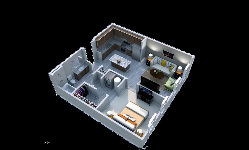 Ariel Apartment Homes Lake Nona, Orlando FL 32827 One Bedroom One Bath