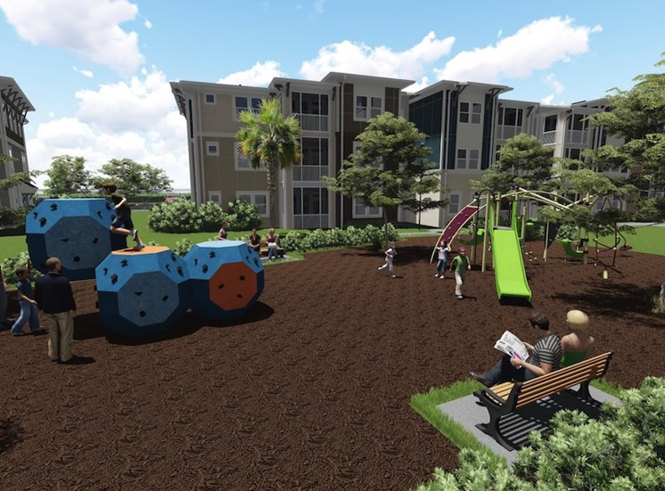 Ariel Apartments in Lake Nona, Orlando, FL 32827 Playground rendering