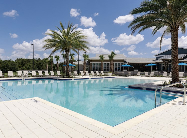 Ariel Apartments in Lake Nona, Orlando, FL 32827 Pool and aquadeck