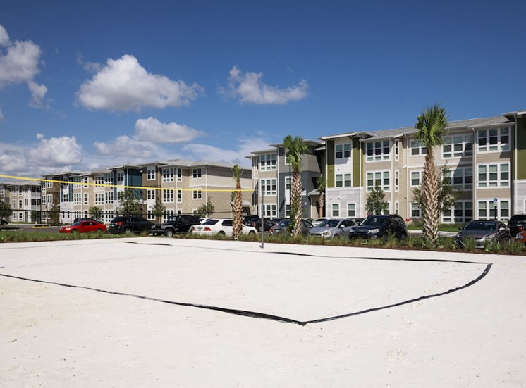 Ariel Apartments in Lake Nona, Orlando, FL 32827 Sand volleyball court