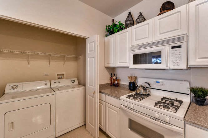Two Bedroom Kitchen with Laundry