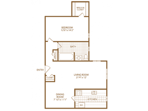 One Bed One Bath-Fairway-Marchmon