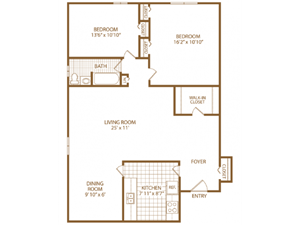 Two Bed One Bath-Fairway-Marchmon