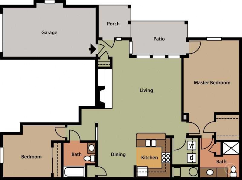 Two Bedroom (B1)