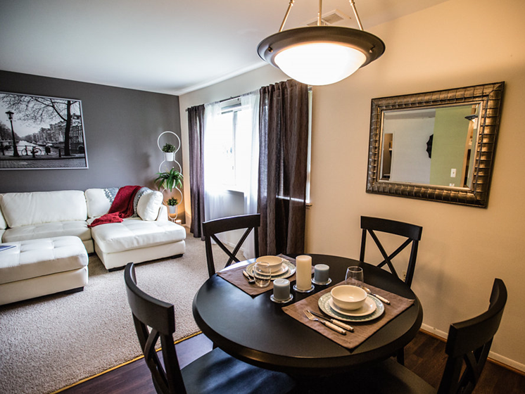 Open Floorplan Layout at Drawbridge Apartments East, 48045