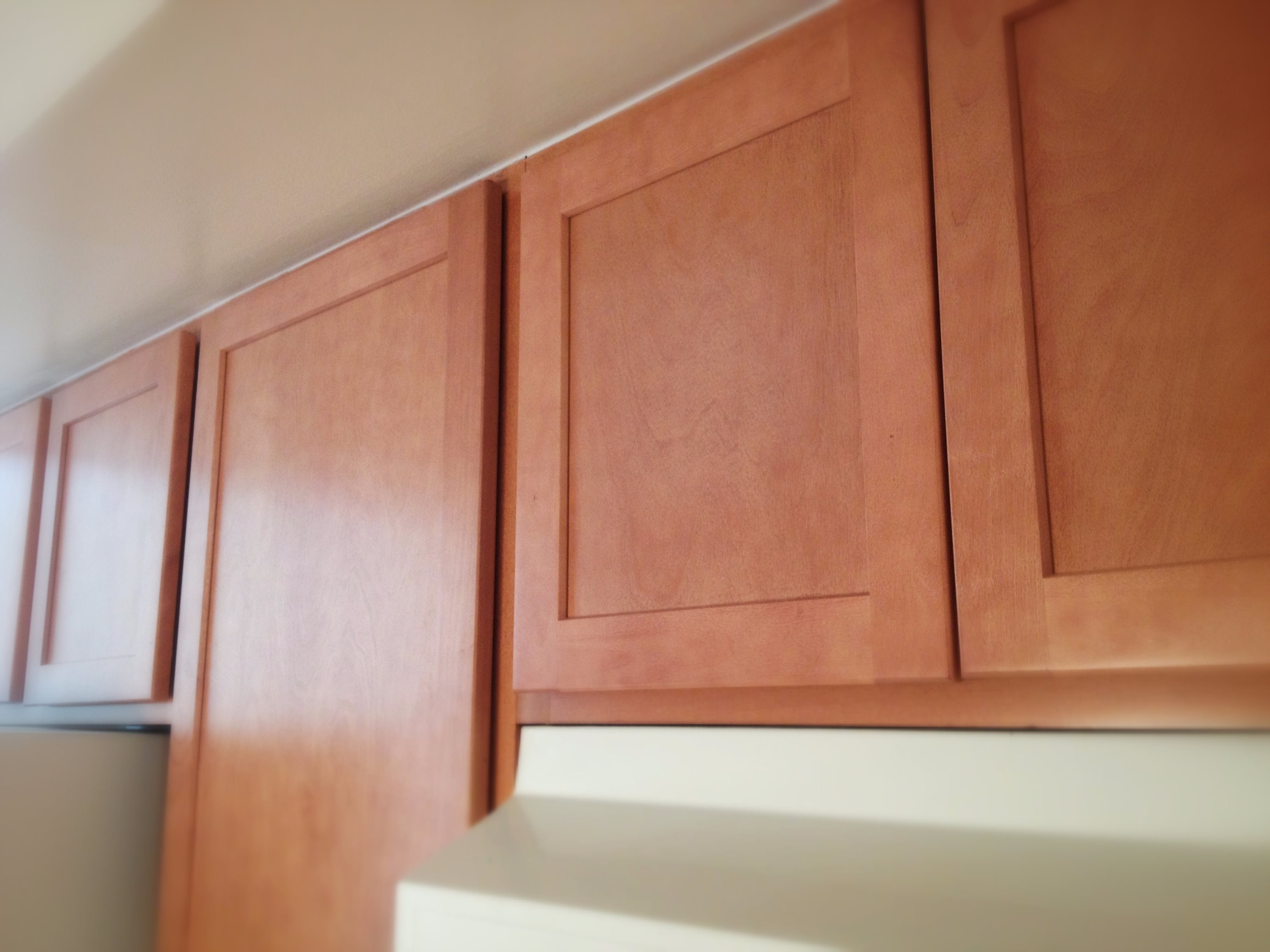 Kitchen Cabinets at Drawbridge Apartments East at 36420 Union Lake Road
