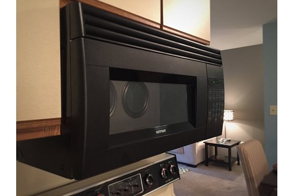 Built-in Microwave at Eastwood Village Apartments, 48035