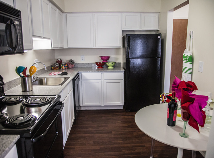 Chef-inspired Kitchen at Franklin River Apartments, MI 48034