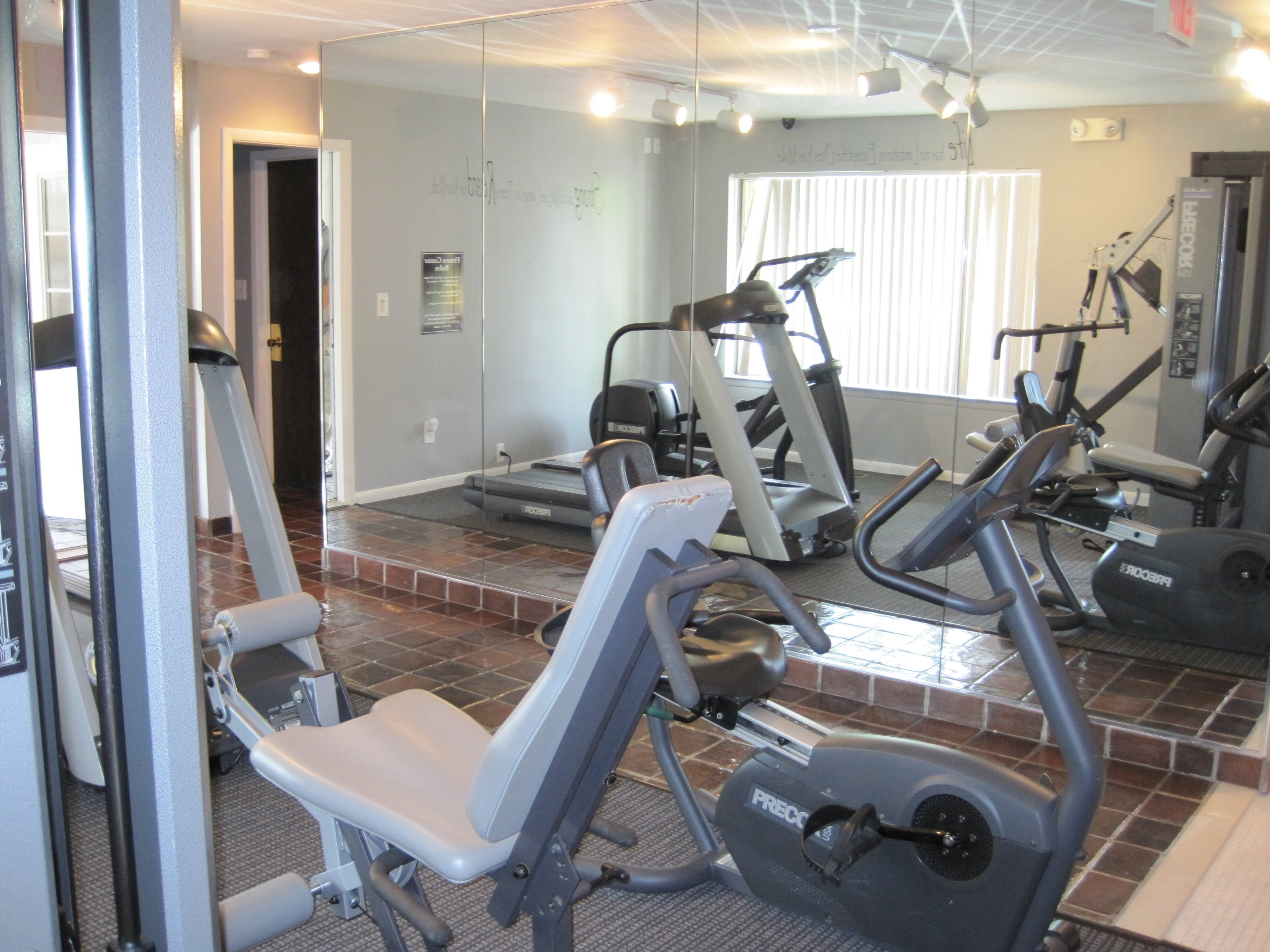 Cardio Equiptment at Knottingham Apartments 23128 Wellington Crescent
