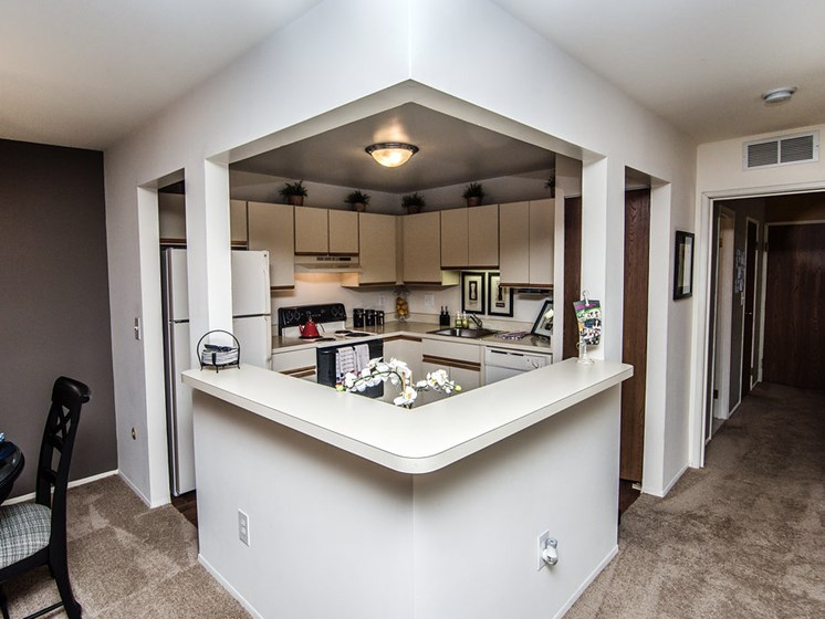 Spacious Kitchen at Park Lane Apartments, 23344 Park Place Drive
