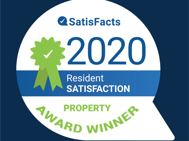 SatisFacts Property Award Winner Park Lane Apartments Southfield MI