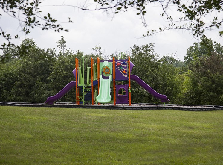 Playground at Three Oaks Apartments in Michigan
