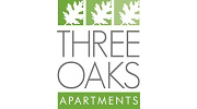 Three Oaks Apartments Logo, Michigan 48098