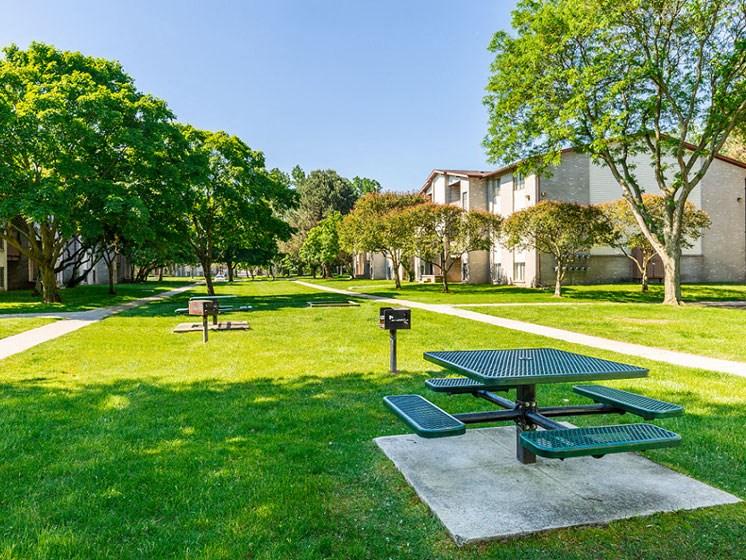 Court yard view Westland, MI