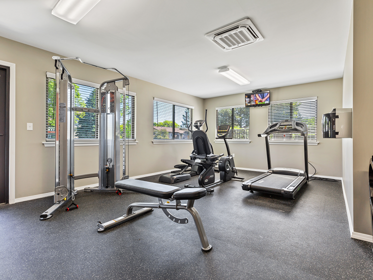 Fitness center Westland MI by 96 and 275