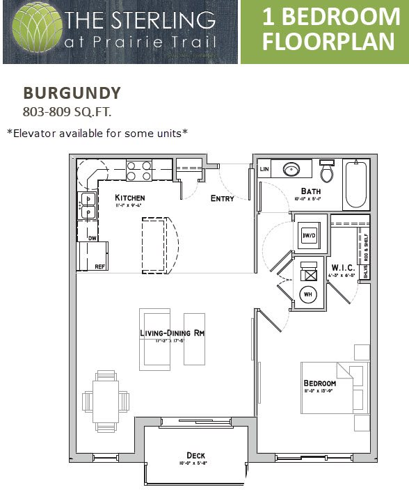 Burgundy Floor Plan 3