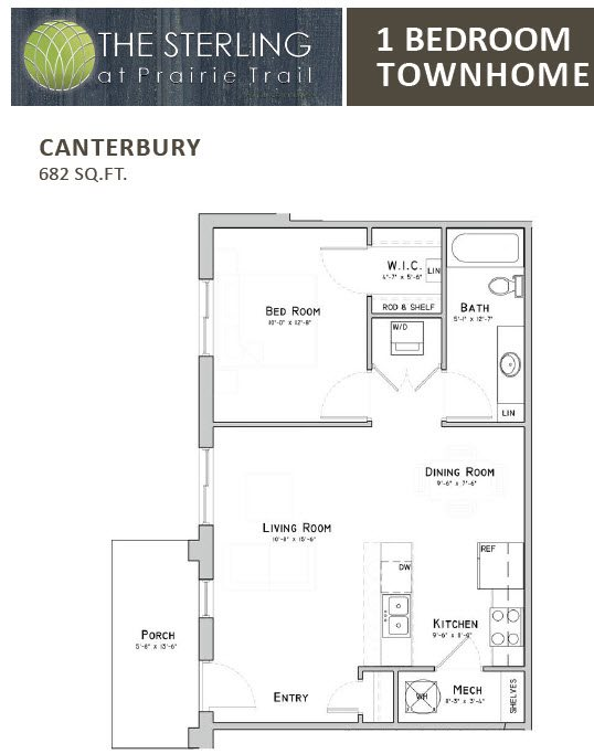 Canterbury Townhome Floor Plan 8