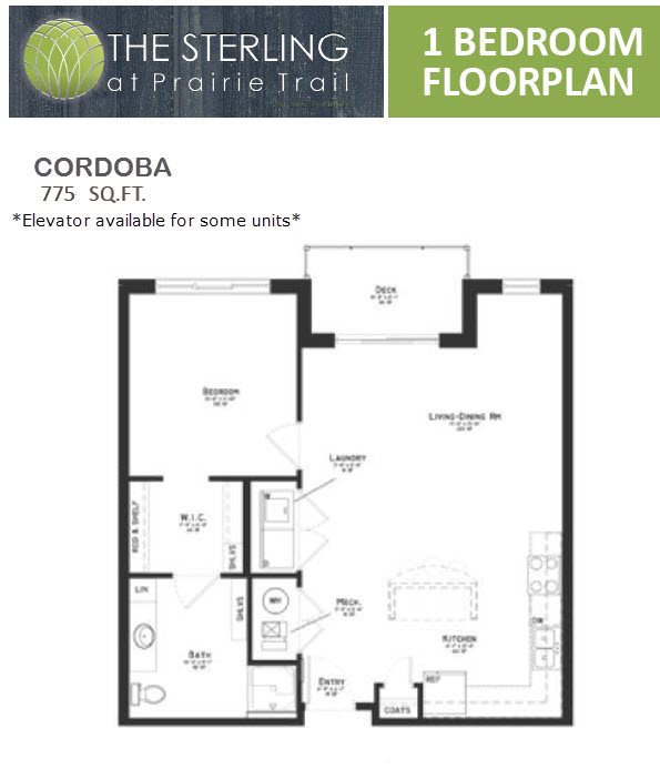 Cordoba Floor Plan 4