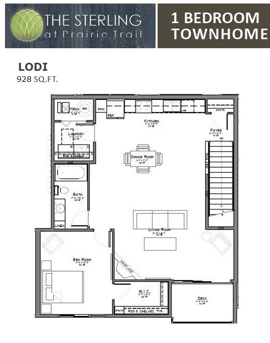 Lodi Townhome Floor Plan 11