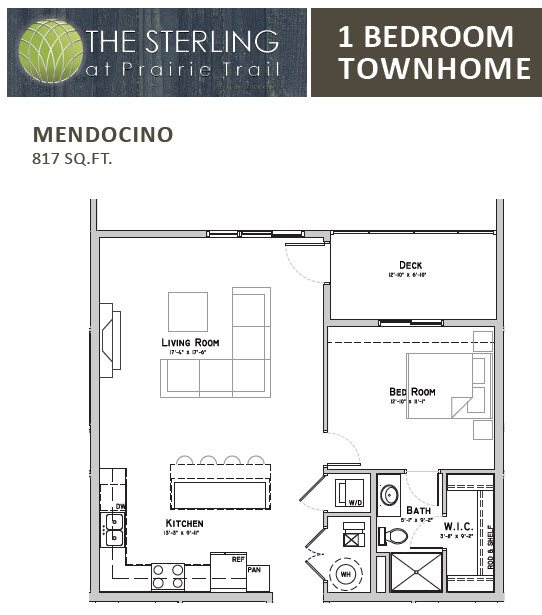 Mendocino Townhome Floor Plan 9