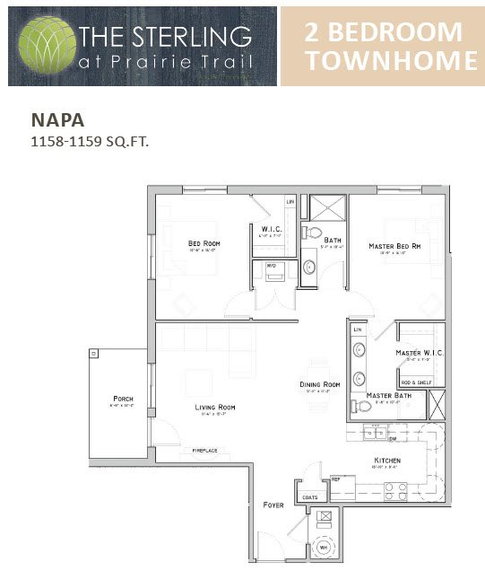 Napa Townhome Floor Plan 13