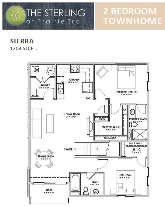 Sierra Townhome Floor Plan 14