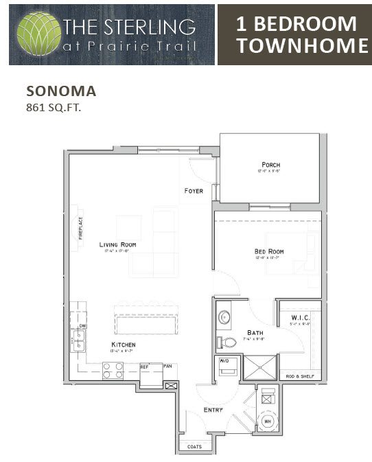 Sonoma Townhome Floor Plan 10