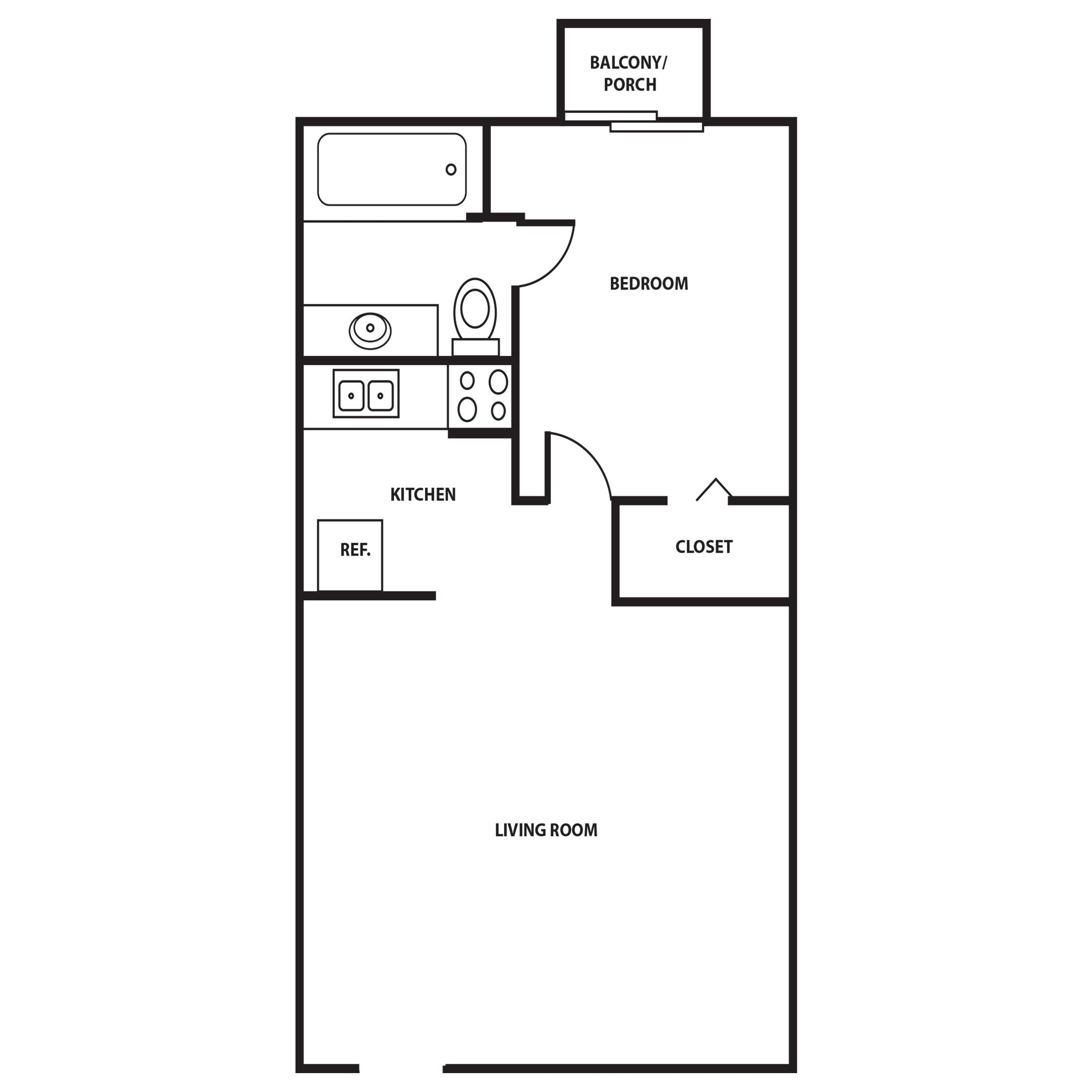 Aurora Floor Plan 1