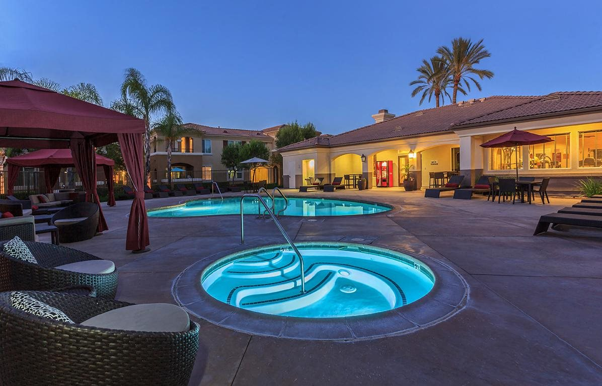 Year Round Hot Tub At Santa Rosa Apartment Homes Wildomar Ca 92595