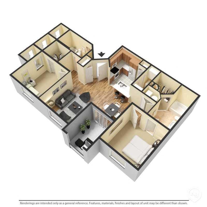 Villa Pompeii Floor Plan 2