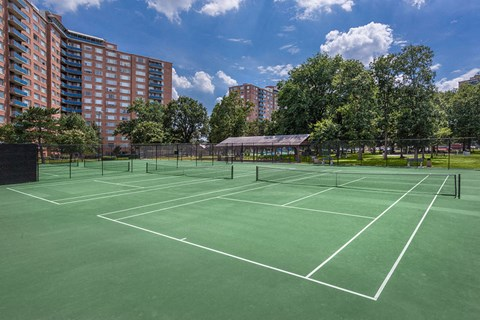 The Monticello Tennis Courts