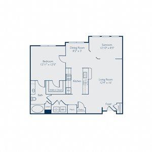 984-985 square feet