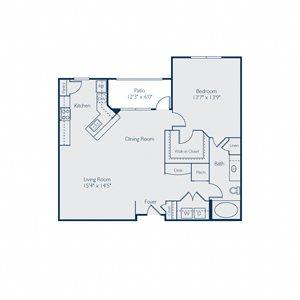 1025 square feet