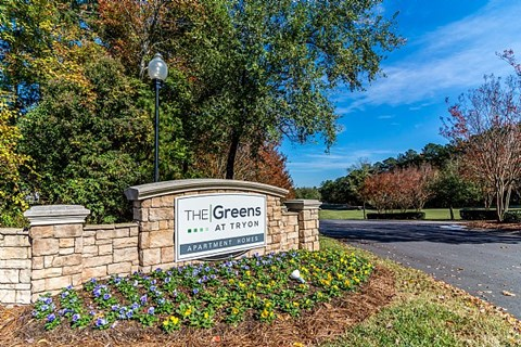 The Greens at Tryon Entrance