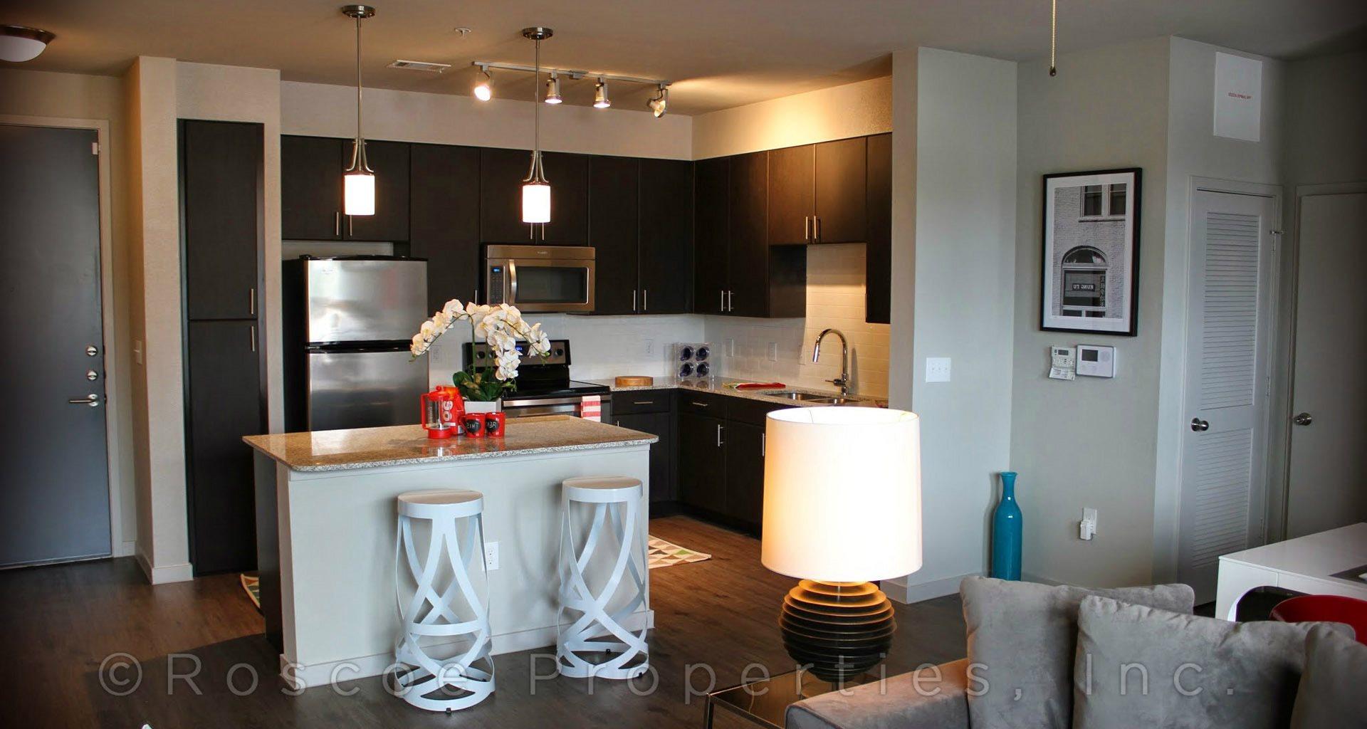 1111 Austin Highway Apartments in San Antonio kitchen