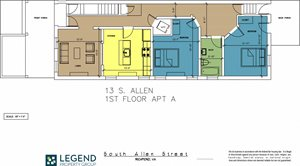 The Row at Cary Place - 13 S. Allen Ave. Lower Unit
