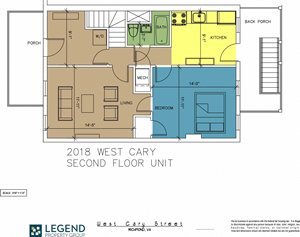 The Row at Cary Place - 2018 W. Cary Street Upper Unit