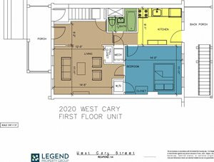 The Row at Cary Place - 2020 W. Cary Street Lower Unit
