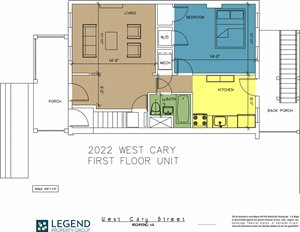 The Row at Cary Place - 2022 W. Cary Street Lower Unit