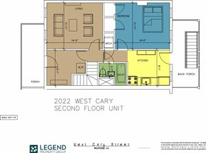The Row at Cary Place - 2022 W. Cary Street Upper Unit