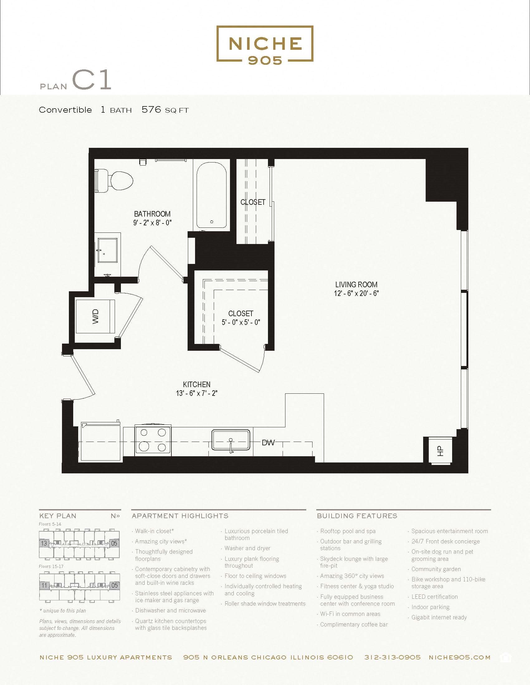 C1 Floor Plan 1