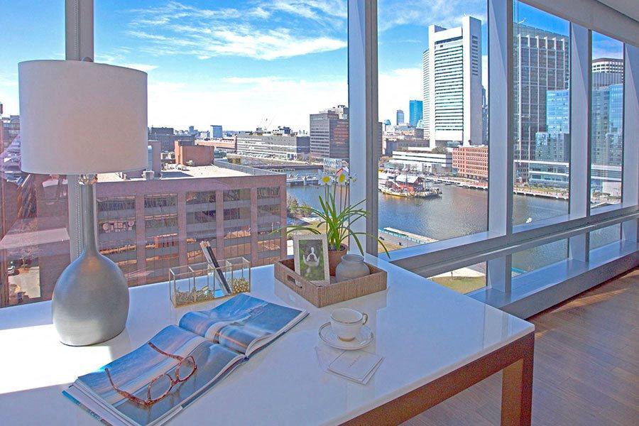 Beautiful Home Office at The Benjamin Seaport Residences, Boston, 02210