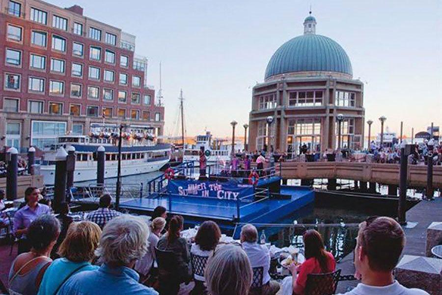 Cruise ship Event at The Benjamin Seaport Residences, Boston, MA