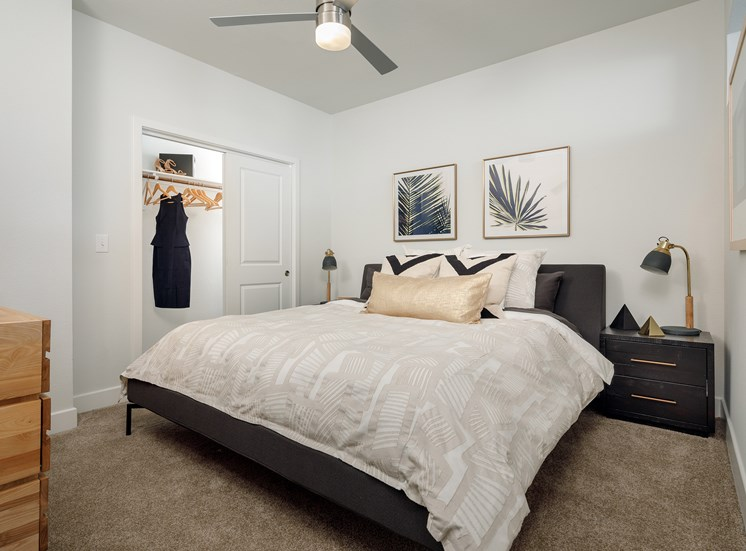 Specious Bedrooms at Ascent Cresta Bella, San Antonio, Texas