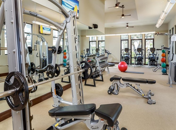 24 hour Fitness Center at Thirty Oaks, San Antonio